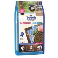 Bosch Junior Medium корм для щенков средних пород с мясом домашней птицы 1 кг