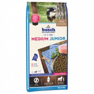 Bosch Junior Medium корм для щенков средних пород с мясом домашней птицы 15 кг