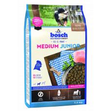 Bosch Junior Medium корм для щенков средних пород с мясом домашней птицы 3 кг