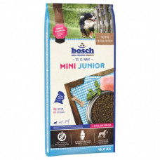 Bosch Mini Junior корм для щенков маленьких пород с мясом домашней птицы 15 кг