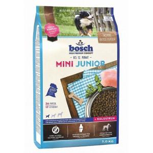 Bosch Mini Junior корм для щенков маленьких пород с мясом домашней птицы 3 кг