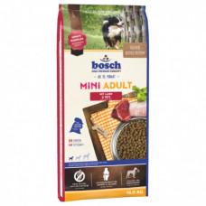Bosch Mini Adult корм для взрослых собак маленьких пород с ягненком и рисом 15 кг