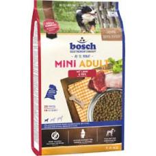 Bosch Mini Adult корм для взрослых собак маленьких пород с ягненком и рисом 3 кг