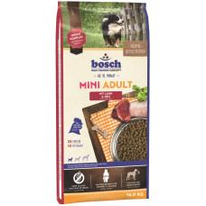 Bosch Mini Adult корм для взрослых собак маленьких пород с птицей и просом 15 кг