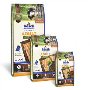 Bosch Adult корм для взрослых собак сосредним уровнем активности с птицей и просом 3 кг