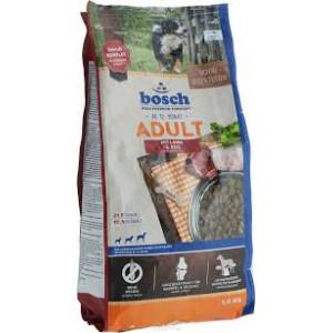 Bosch Adult корм для взрослых собак сосредним уровнем активности с ягненком и рисом 1 кг