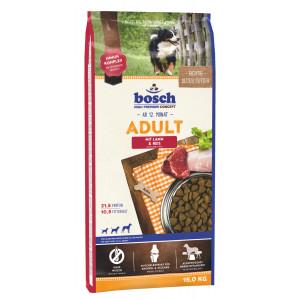 Bosch Adult корм для взрослых собак сосредним уровнем активности с ягненком и рисом 15 кг