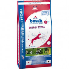 Bosch Extra Energy корм для взрослых собак с мясом домашней птицы 15 кг