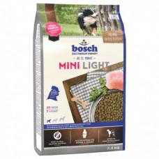 Bosch Mini Light корм для собак склонных к полноте с мясом домашней птицы 2,5 кг