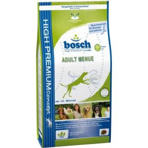 Bosch Adult Menue для дорослих собак, суміш м'ясних і овочевих гранул з м'ясом домашньої птиці 3 кг