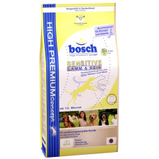Bosch Sensitive корм для собак, склонных каллергии с ягненком и рисом 1 кг