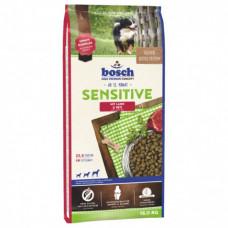 Bosch Sensitive корм для собак, склонных каллергии с ягненком и рисом 15 кг