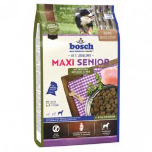 Bosch Maxi Senior корм для пожилых собак крупных пород с птицей и рисом 1 кг