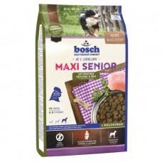 Bosch Maxi Senior корм для пожилых собак крупных пород с птицей и рисом 12,5 кг