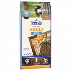 Bosch Adult корм для собак сосредним уровнем активности с рыбой и картофелем 15 кг