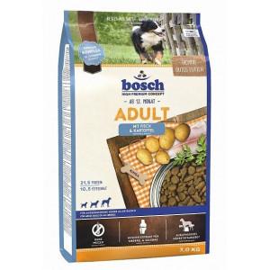 Bosch Adult корм для собак із середнім рівнем активності з рибою і картоплею 3 кг