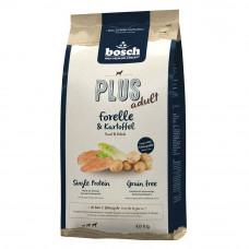 Bosch PLUS корм для крепкого иммунитета собак с форелью и картофелем 1 кг
