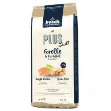 Bosch PLUS корм для крепкого иммунитета собак с форелью и картофелем 12,5 кг