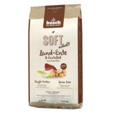 Bosch Soft Land-Ente & Kartoffel корм для собак с деревенской уткой и картофелем 12,5 кг