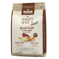 Bosch Soft Land-Ente & Kartoffel корм для собак с деревенской уткой и картофелем 2,5 кг