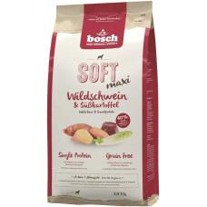 Bosch Soft Adult Wild Boar & Sweet potato корм для пожилых собак с мясом дикого кабана и картофелем 1 кг
