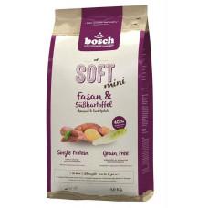 Bosch Soft Mini Fasan & Sweet potato корм для взрослых собак мелких пород с мясом фазана и сладким картофелем 1 кг