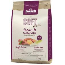 Bosch Soft Mini Fasan & Sweet potato корм для взрослых собак мелких пород с мясом фазана и сладким картофелем 2,5 кг