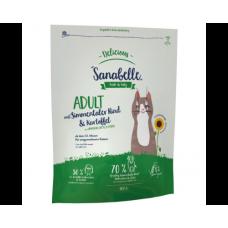 Bosch Sanabelle Delicious Adult с мясом бычков симментальской породы и картофелем сухой корм для кошек с аллергией на злаковые 2кг