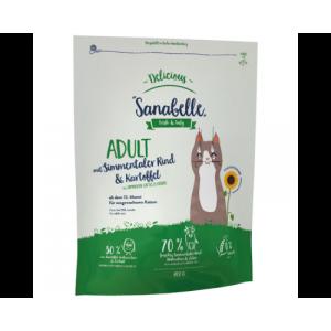 Bosch Sanabelle Delicious Adult з м'ясом бичків симентальської породи і картоплею сухий корм для котів з алергією на злакові 2кг