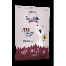 Bosch Sanabelle Delicious Adult с косулей и картофелем сухой корм для кошек 2кг