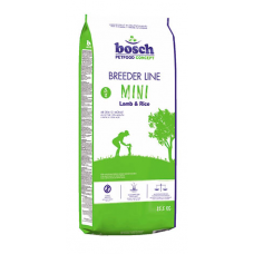 Bosch Breeder Line Mini Lamb & Rice корм для взрослых собак мелких пород с ягненком и рисом 20 кг