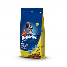 Brekkies сухой корм для собак малых пород с курицей и говядиной 20 кг