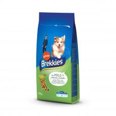 Brekkies Dog Chicken (Complet) сухой корм для взрослых собак всех пород с курицей 20 кг