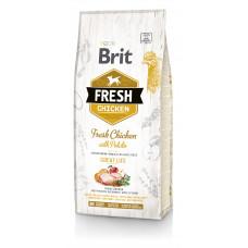 Brit Fresh Chicken/Potato Adult сухой корм для взрослых собак курица, картофель 12 кг