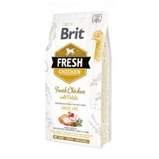 Brit Fresh Chicken/Potato Adult сухой корм для взрослых собак курица, картофель 2,5 кг