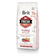 Brit Fresh Beef/Pumpkin Puppy Large сухой корм для щенков крупных пород говядина, тыква 12 кг