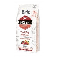 Brit Fresh Beef/Pumpkin Puppy Large сухой корм для щенков крупных пород говядина, тыква 2,5 кг