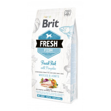 Brit Fresh Fish/Pumpkin Adult Large сухой корм для взрослых собак крупных пород рыба, тыква 2,5 кг