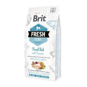 Brit Fresh Fish / Pumpkin Adult Large сухий корм для дорослих собак великих порід риба, гарбуз 2,5 кг