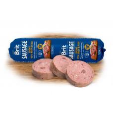 Brit Premium Dog Sausage колбаса для активных собак с говядиной и рыбой 0,8 кг