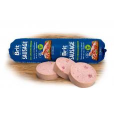 Brit Premium Dog Sausage колбаса для собак с курицей и олениной 0,8 кг