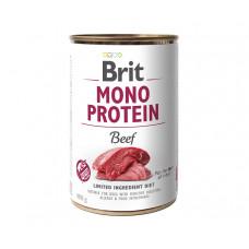 Brit Mono Protein Dog консервы для собак с говядиной 0,4 кг
