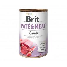 Brit Pate & Meat Dog консервы для собак с ягненком 0,4 кг