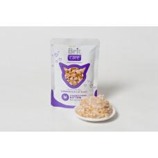 Brit Care Cat pouch пауч для котят с курицей и сыром 0,08 кг