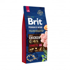 Brit Premium Dog Senior L+XL сухой корм для пожилых собак крупных и гигантских пород 3 kg