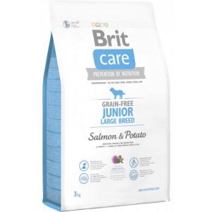 Brit Care GF Junior Large Breed Salmon & Potatoes сухой корм для щенков гигантских пород с лососем и картофелем 3 кг