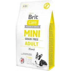 Brit Care Mini Grain Free Adultсухой корм для взрослых собак миниатюрных пород с ягненком 2 кг
