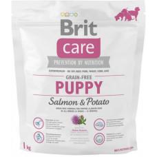 Brit Care GF Puppy Salmon & Potatoes сухой корм для щенков с лососем и картофелем 1 кг