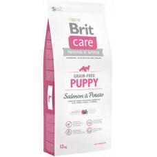 Brit Care GF Puppy Salmon & Potatoes сухой корм для щенков с лососем и картофелем 12 кг