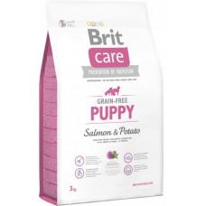 Brit Care GF Puppy Salmon & Potatoes сухой корм для щенков с лососем и картофелем 3 кг